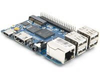 Banana Pi M4 (BPI-M4) - мини-ПК в форм-факторе Raspberry Pi 3 Model B+ на базе RTD1395 и с слотом M.2