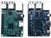 Banana Pi M4 (BPI-M4) vs Raspberry Pi 3 Model B