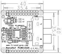 Matrix - NanoHat PCM5102A PCB