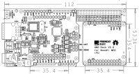 Matrix - UNO Dock для NanoPi NEO v2.0 PCB