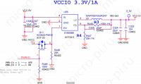 VCCIO 3.3V (SY8008B - 1A) - orange_pi-zero-v1_11_Page_07 (Q11 AO3423-PMOS)