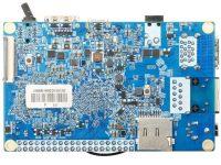 Orange Pi 4 - одноплатный мини ПК на базе RK3399 и с 4 Гб LPDDR4 (вид снизу)