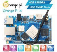 Orange Pi 4 - одноплатный мини ПК на базе RK3399 и с 4 Гб LPDDR4