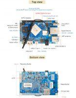 Orange Pi 4 - одноплатный мини ПК на базе RK3399 - компоненты (без eMMC)
