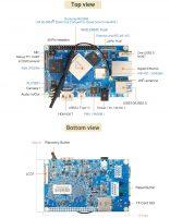 Orange Pi 4 - одноплатный мини ПК на базе RK3399 - компоненты