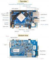 Orange Pi 4B - одноплатный мини ПК на базе RK3399 - компоненты