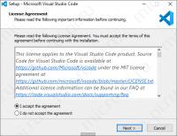 Установка VS Code - Лицензионное соглашение