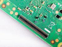 Raspberry Pi Compute Module 4 - Вид снизу
