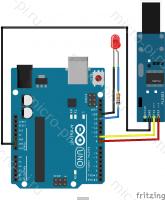 Урок 2. Последовательный порт UART в Maixduino/K210 - Схема подключения